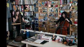 Carolina Eyck and Clarice Jensen: NPR Music Tiny Desk Concert