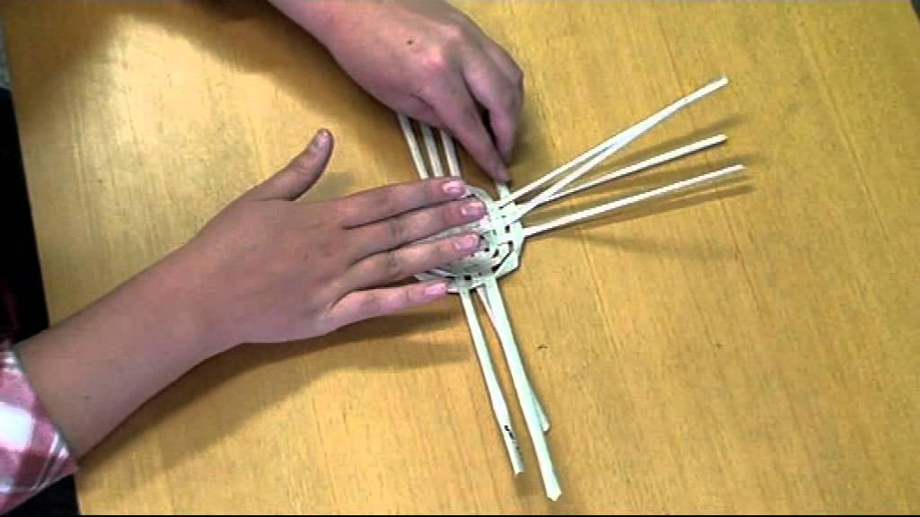 b4ddc3b48 Košík z papiera - ako upliesť papierový košík - pletenie z papiera - VIDEO  Ako sa to robí.sk