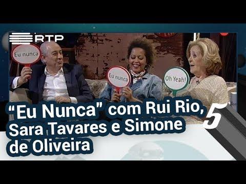 """""""Eu Nunca"""" com Rui Rio, Simone de Oliveira e Sara Tavares - 5 Para a Meia-Noite"""