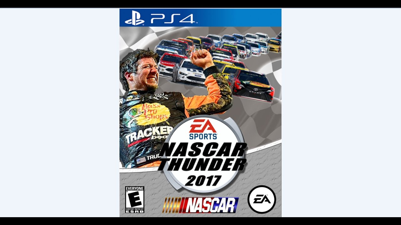 NASCAR Thunder 2017 Cover Speedbuild (SpeedShop?) - YouTube