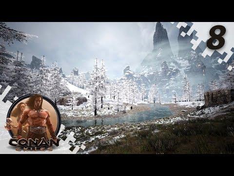 CONAN EXILES: THE FROZEN NORTH - Exploration! - EP08