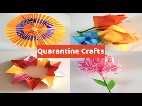 easy-diy-paper-art-&-crafts-to-do-at-home|-easy-origami-flower,-animal-and-more