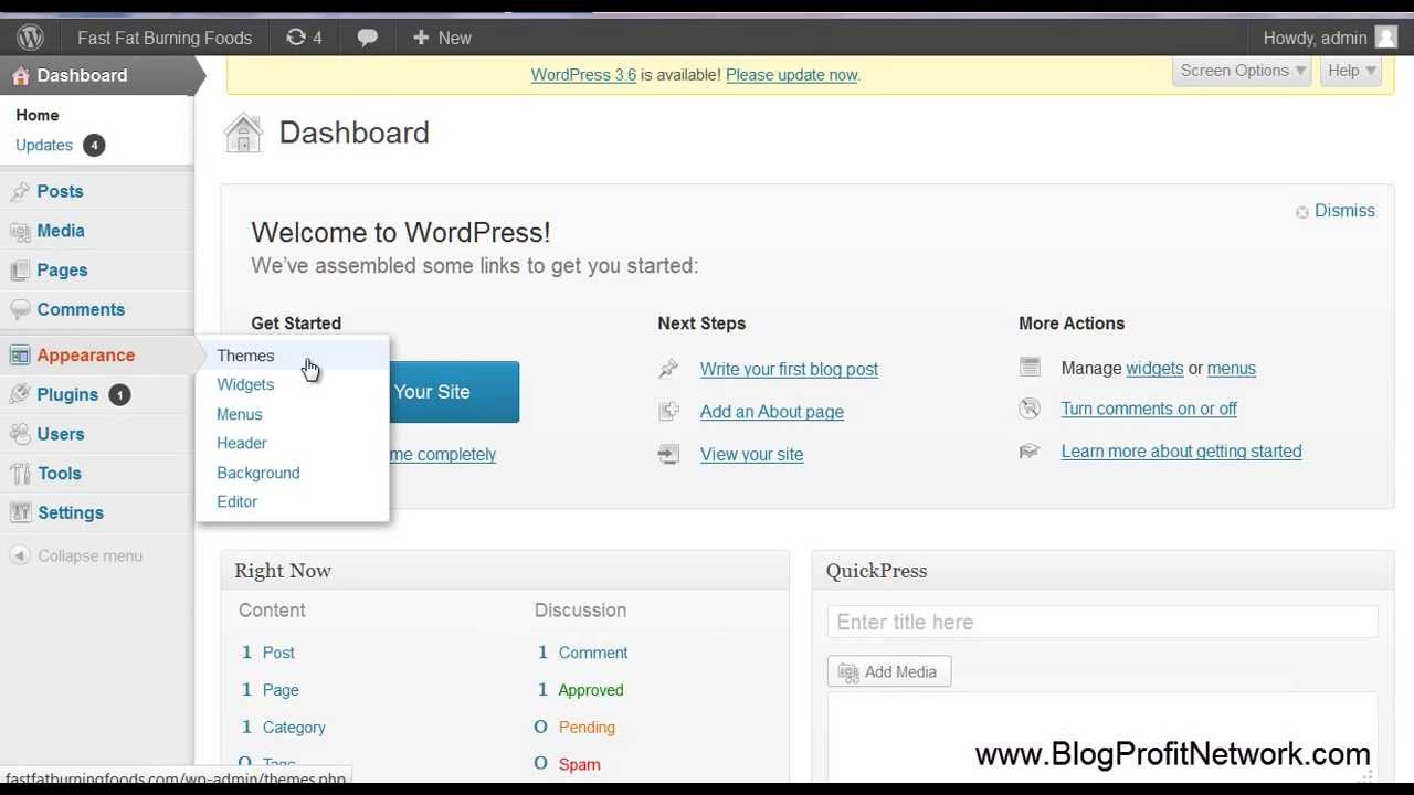 Creating Wordpress Themes With Artisteer - YouTube