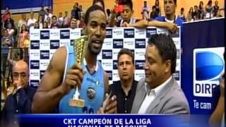 CKT Campeón de la Liga Nacional de Baloncesto 2013