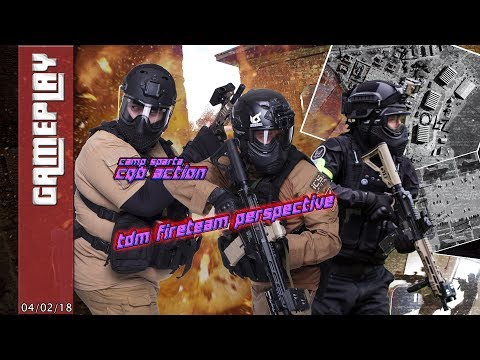 TDM fire team perspective at Camp Sparta