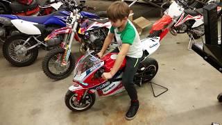 X15 90cc pocket bike