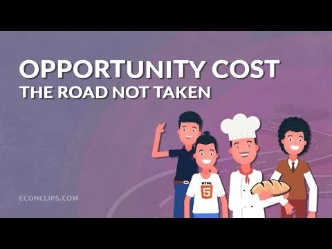 🛣 Opportunity Cost   The Road Not Taken