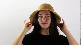 Hats & Co  Soraya Tan Hat Display - Hats By The 100