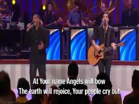 Phil Wickham  - At Your Name  ( YAHWEH ) -  Lakewood Church LIVE