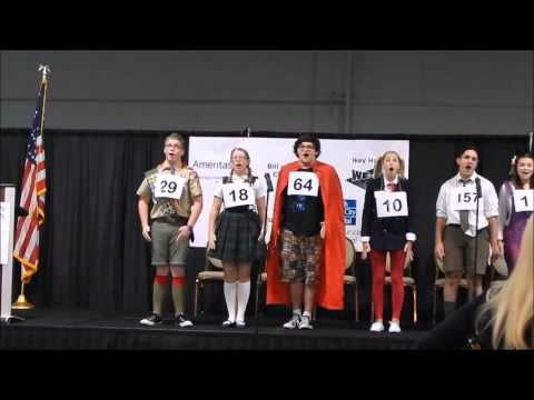 Winnetonka High School Students Perform The 25th Annual Putnam County Spelling Bee