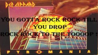 Def Leppard - Rock Rock