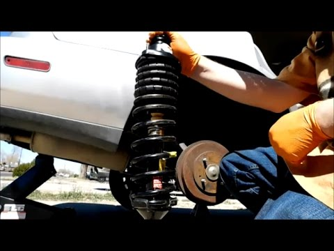 Honda Accord Rear Strut Replacement With Quick Struts 1994 1997