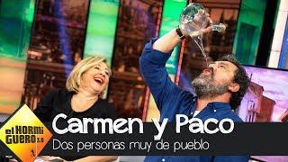 Carmen Machi y Paco Tous sacan su lado más rural con Trancas y Barrancas - El Hormiguero 3.0