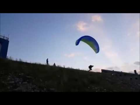 Extreme Freestyle Paragliding Tricks and most beautiful moment in the sport Bosnia and Herzegovina