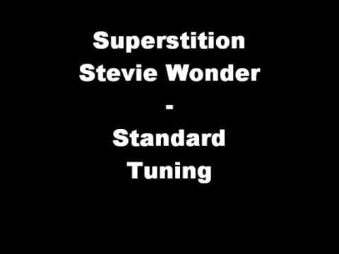 Superstition - Stevie Wonder (STANDARD TUNING)