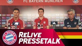 ReLive | FC Bayern Pressetalk w/ Sebastian Rudy & Niklas Süle