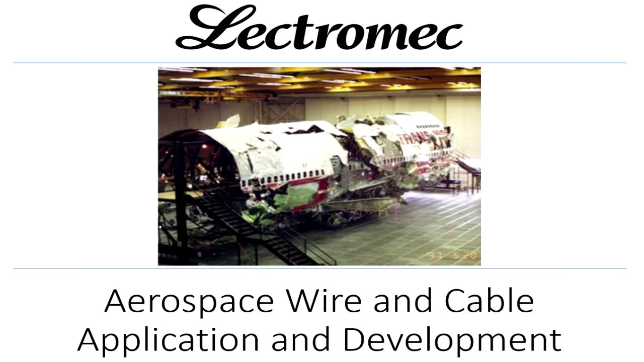 hight resolution of aircraft wire and cable application and developments