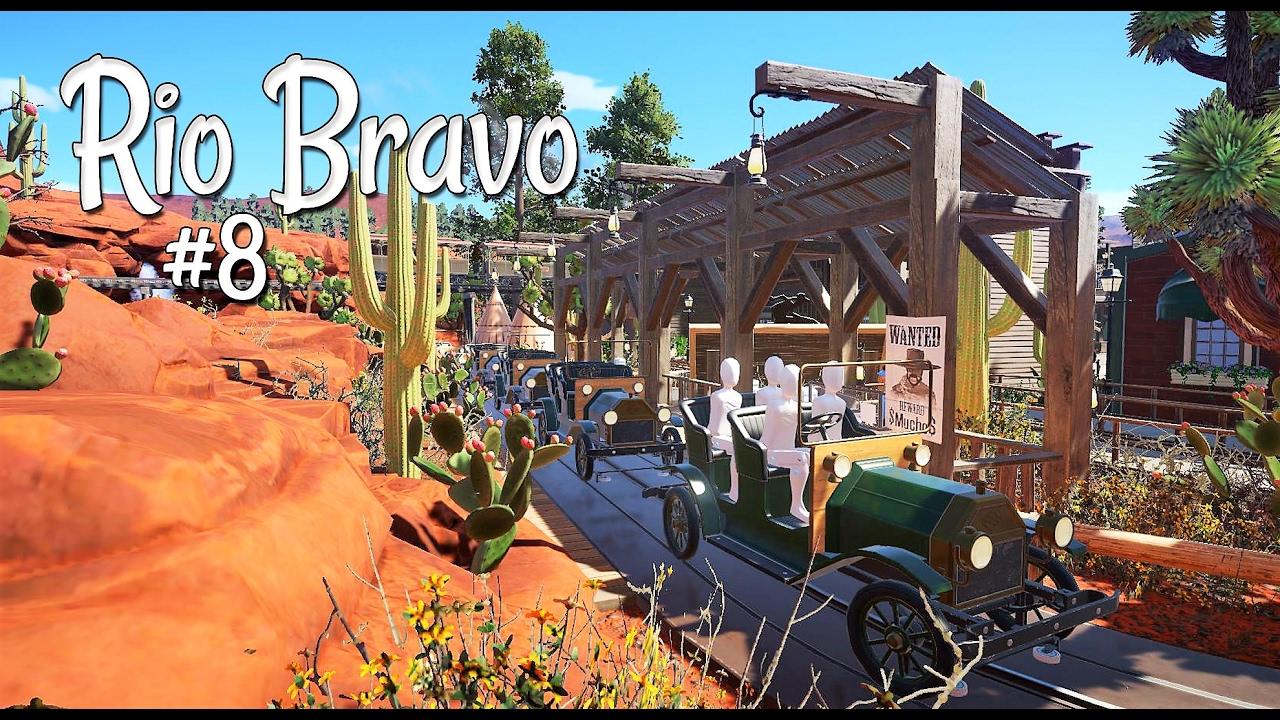 Planet coaster western rio bravo ep 8 tannen track for Plante western