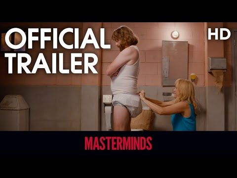 Masterminds (2016) Official Trailer [HD]