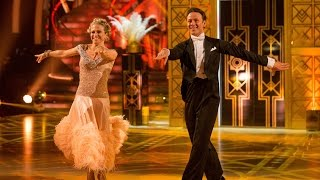 Kellie Bright and Kevin American Smooth to 'Let's Face The Music and Dance' - Strictly:  2015