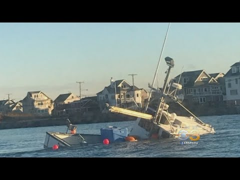 3 People Recovering After Fishing Boat Strikes Jetty Off Jersey Coast