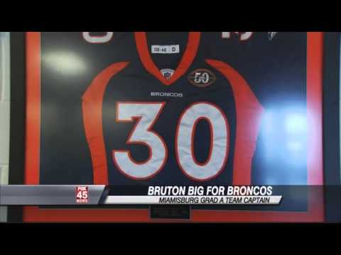Miamisburg grad Bruton a captain for Super Bowl bound Denver Broncos