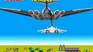 Sega Arcade Gallery (GBA) - After Burner (2/2) No-Death Run