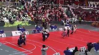 Flavia Ubillús y Fernando Acevedo - Semifinal Concurso Marinera Cat. Infantes UIGV Lima 2014