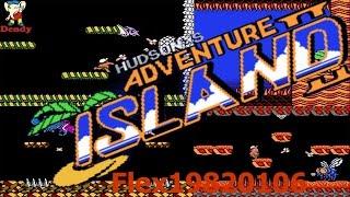 Adventure Island 2 - NES: Hudson