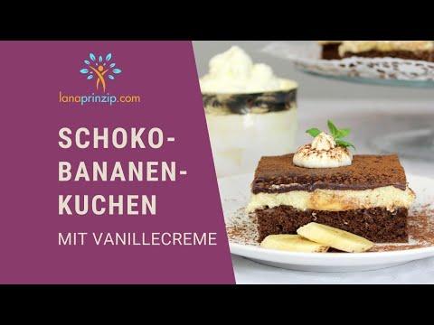Lanas glutenfreies Schoko-Bananenkuchen Rezept