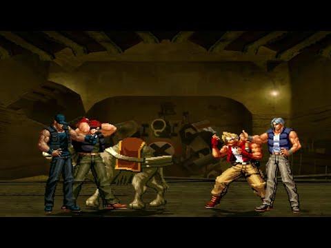 [Mugen - Ikari Warriors vs. Metal Slug] Ralf Jones/Clark Steel vs. Marco Rossi/Trevor Spacey