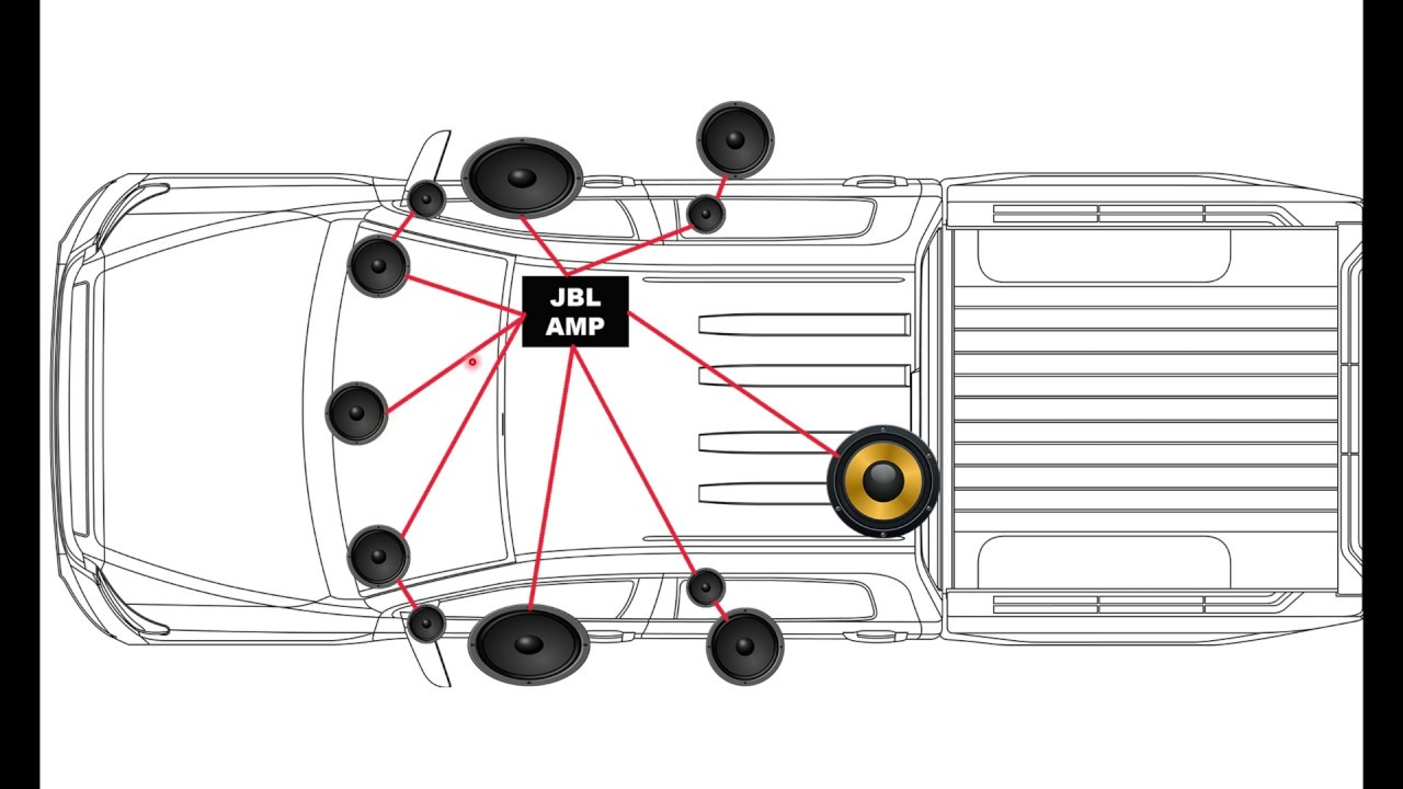 Toyota Tundra Crewmax Jbl Stock Audio Stereo System Overview 2011 2020 Youtube