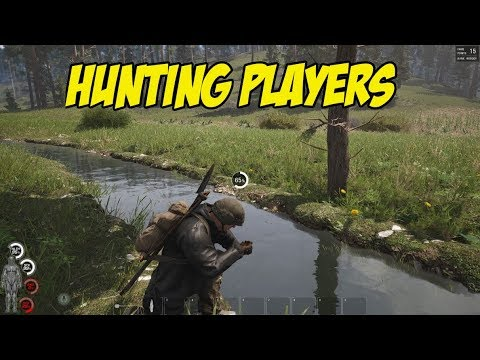 SCUM - HUNTING PLAYERS