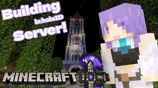 【Minecraft】Might be building a farm in holoID server【#MoonArchitect】