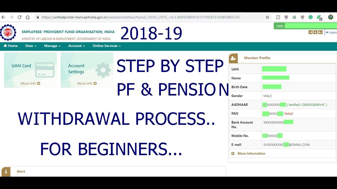 Online Pf Withdraw By Using Umang App Ll How To Withdraw Pf Online Youtube