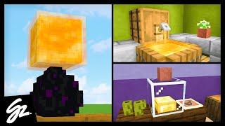 1.15 Minecraft Honey Build Hacks