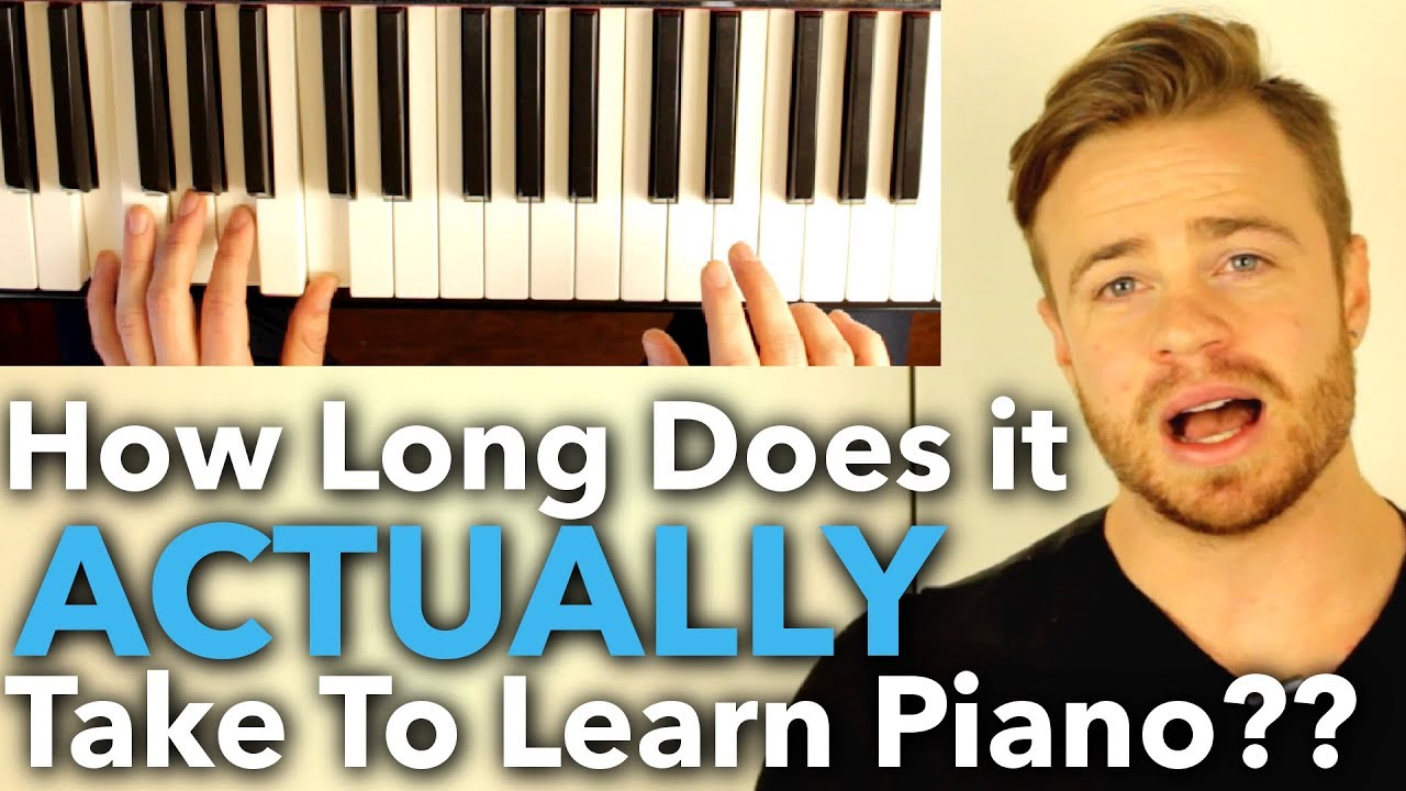 How Long Does It Take To Learn Piano Jellynote