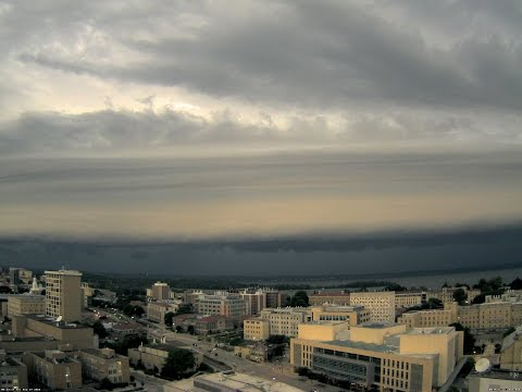 2016 August 19 shelf cloud (northwest view)