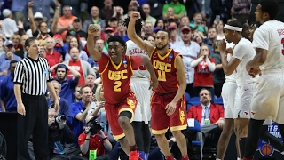 First Round: USC shocks SMU