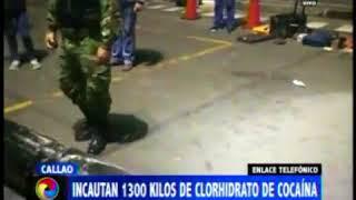 INCAUTAN 1300 KILOS DE CLORHIDRATO DE COCAINA
