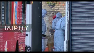 LIVE: Aftermath of 'terrorist-related' stabbing attack in London