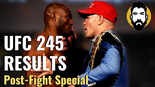 UFC 245 Results: Kamaru Usman vs. Colby Covington | Post-Fight Special | Luke Thomas
