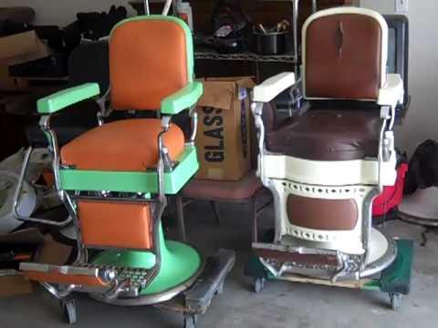 Antique Barber Chairs for sale antique Ethen Allen China cabinet