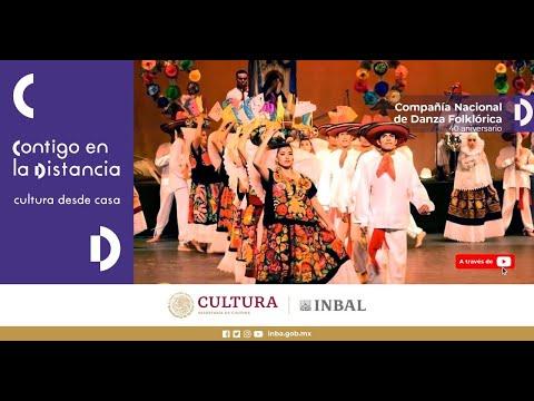 Compañía Nacional de Danza Folklórica de Nieves Paniagua / 40 aniversario / PBA / INBAL
