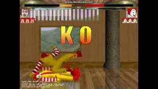 mugen 無限格鬥 ドナルドSolo VS ロナルド(Ronald)
