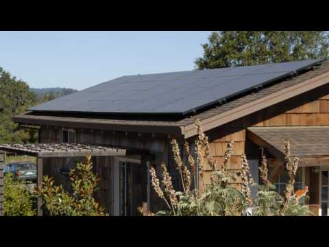World's First LEED Home: Solar Panels - buildaroo.com