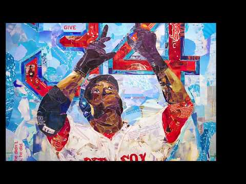 """""""Big Papi/ Different"""" Giant Collage Timelapse by Michael Manning"""
