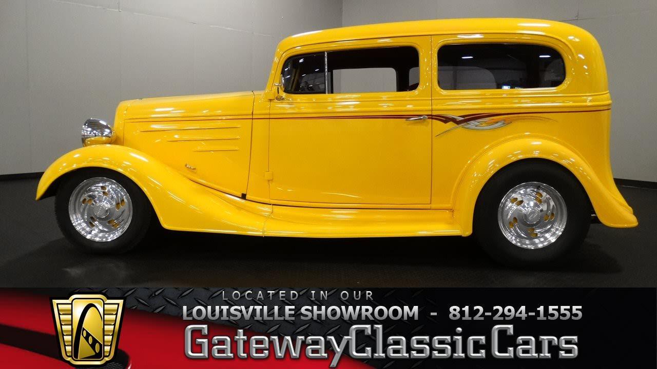 1935 Chevrolet Sedan - Louisville Showroom - Stock # 1276 - YouTube
