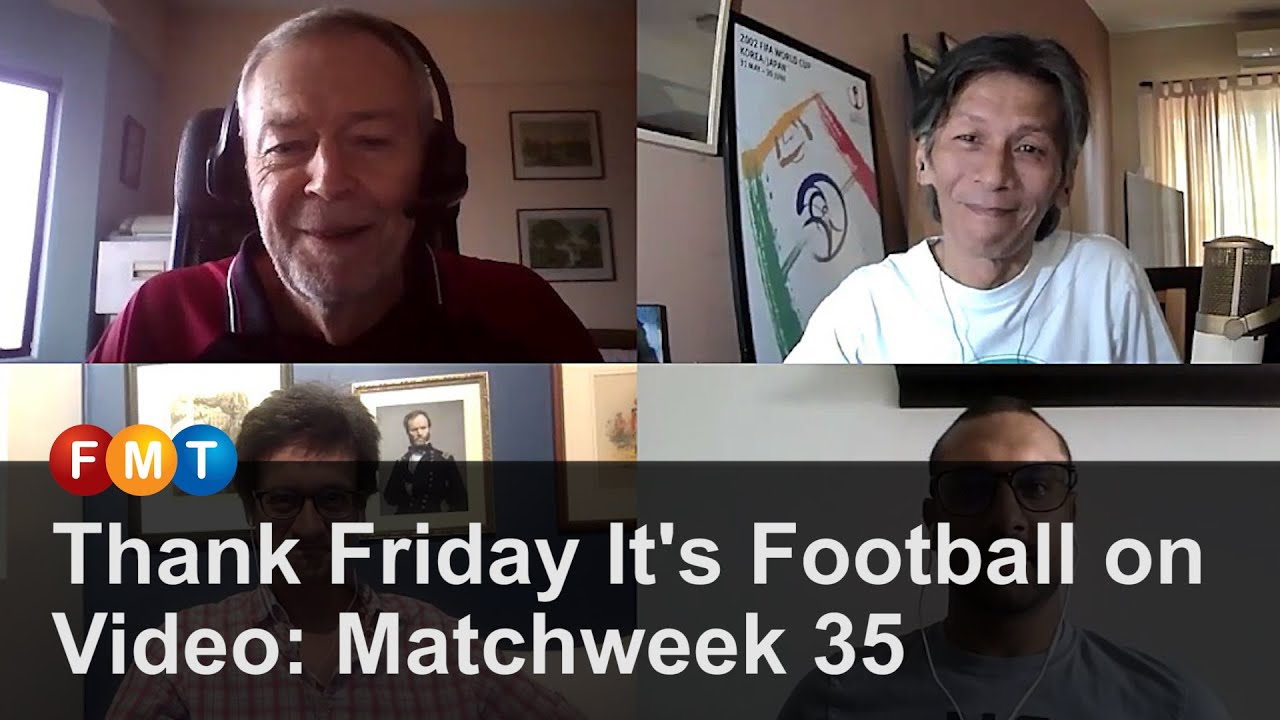 Thank Friday It's Football on Video: Matchweek 35