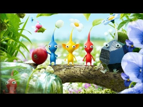 Pikmin 3 trailer introduces the different Pikmin in your miniature army